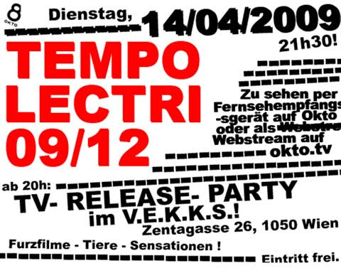 Tempo Lectri 9 - Release Party